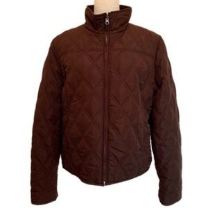 Weatherproof Reversible Quilted Fleece Jacket